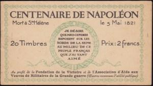 Carnet Napoléon - 1A
