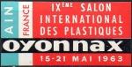 22-01 - Oyonnax - 1963