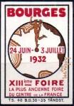 07-18 - Bourges - 1932 Foire