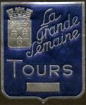 07-37 - Tours - 1936 - Gde Semaine - Ecusson bleu