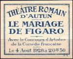 05-71 - Autun - 1928 Mariage Figaro