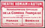 05-71 - Autun - 1929 Horace & Bérénice