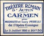 05-71 - Autun - 1930 Carmen