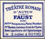 05-71 - Autun - 1932 Faust