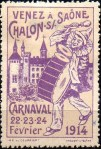 05-71 - Chalon s Saone - Carnaval 1914