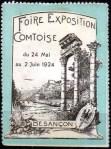 10-25 - Besancon - 1924 - Foire