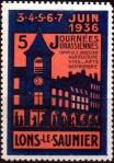 10-39 - Lons le Saunier - 1936 - Journées Juras.