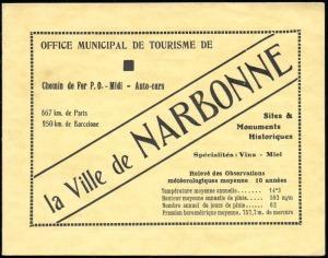 13-11 - Narbonne - 1936 - ESSI - 1A