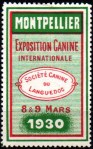 13-34 - Montpellier - 1930 Expo canine
