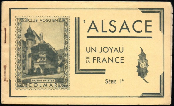 143-095 - Carnet Club vosgien - Série 1b - 1A