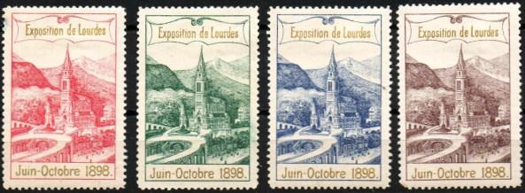 16-65 - Lourdes - Série 1898