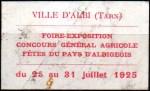 16-81 - Albi - Foire 1925