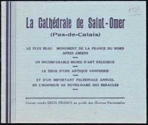 17-62 - St Omer - Cath. - 1A