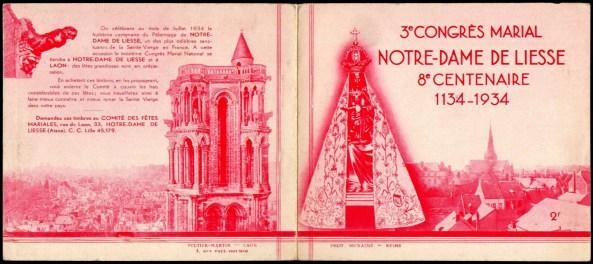 19-02 - Laon - 1934 - Congrès marial - 1D