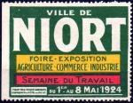 20-79 - Niort - 1924 - Foire