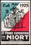 20-79 - Niort - 1925 - Foire