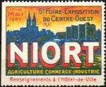 20-79 - Niort - 1927 - Foire