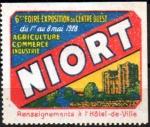 20-79 - Niort - 1928 - Foire