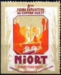 20-79 - Niort - 1930 - Foire