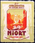20-79 - Niort - 1931 - Foire