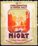 20-79 - Niort - 1932 - Foire