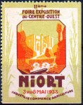 20-79 - Niort - 1933 - Foire