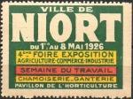 20-79 - Niort - Foire 1926