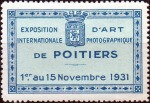 20-86 - Poitiers 1931 - Expo Photo