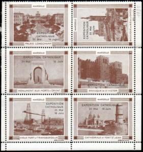 21-13 - Marseille - 1935 - Expo catho
