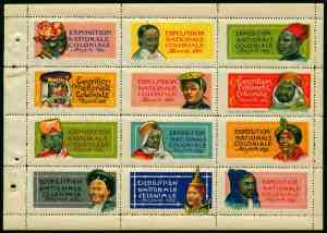 21-13 - Marseille - Bloc expo coloniale