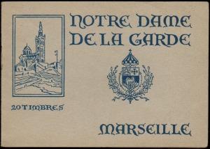 21-13 - Marseille - Carnet ND de la Garde - 1A