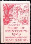 21-84 - Avignon - 1923 - Foire