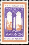 21-84 - Avignon - 1925 - Cycle Moyen Age