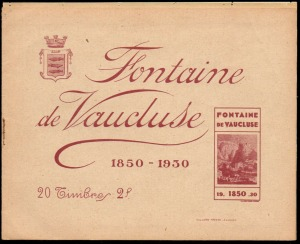 21-84 - Fontaine - Carnet 1930 - 1A