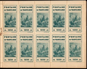 21-84 - Fontaine - Carnet 1930 - 1B