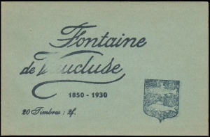 21-84 - Fontaine - Carnet 1932 - 1A