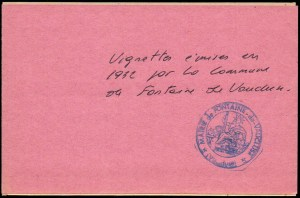 21-84 - Fontaine - Carnet 1932 - 4A