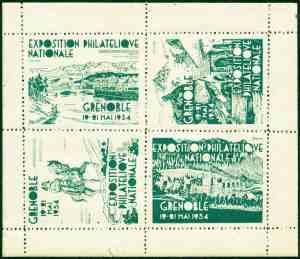 22-38 - Grenoble - 1934 - Expo Phil.