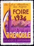22-38 - Grenoble - Foire 1936