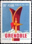 22-38 - Grenoble - Foire 1955