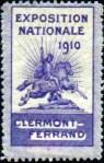 03-63 - Clermont Fd - 1910 - EXPO Nale Bleu-violet
