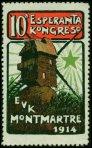 12-75 - Paris - 1914 -  ESPÉRANTO