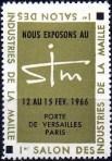 12-75 - Paris - 1966 - Expo Maille