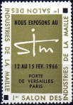 12-75 - Paris - 1966 - Expo Maille
