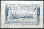 12-94 - Vincennes - 1948 Expo coloniale