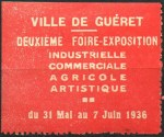 14-23 - Guéret - 1936 - Foire expo