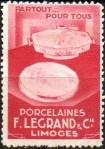 14-87 - Limoges - Pub. Porcelaine