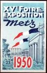 15-57 - Metz - Foire 1950