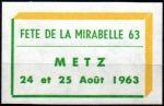 15-57 - Metz - Mirabelle 1963