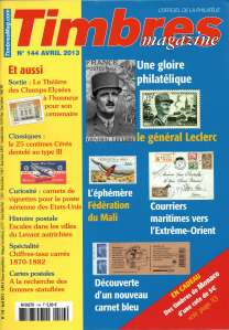 Timbres-Magazine Avril 2013